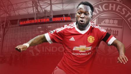 Romelu Lukaku dikabarkan resmi gabung Manchester United. - INDOSPORT