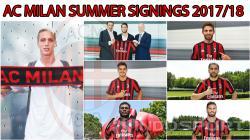 Para pemain baru AC Milan.