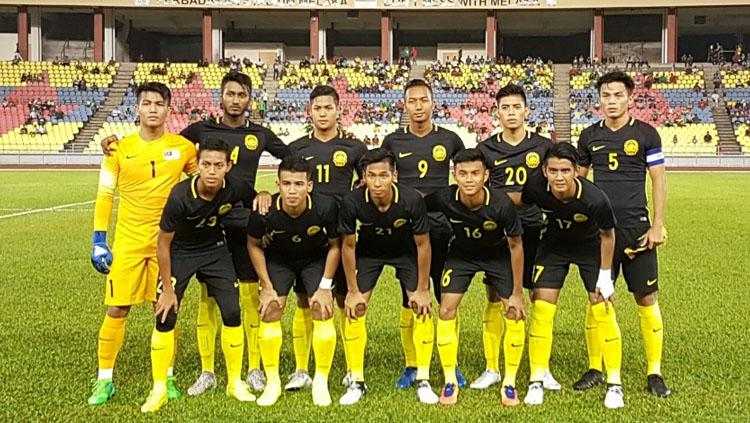 Skuat Timnas Malaysia. Copyright: http://www.fam.org.my/