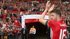 Indosport - Gelandang Manchester United, Michael Carrick.