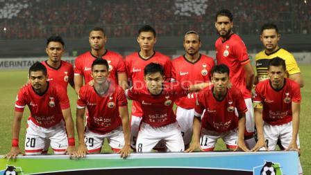 Susunan starter para pemain Persija Jakarta.
