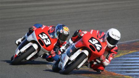 Berikut jadwal lengkap Moto2 dan Moto3 Qatar akhir pekan ini. - INDOSPORT