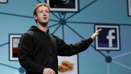 Mark Zuckerberg, CEO Facebook. - INDOSPORT