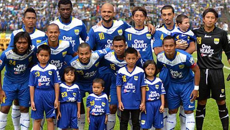 Skuat Persib Bandung 2013. Copyright: sidomi.com