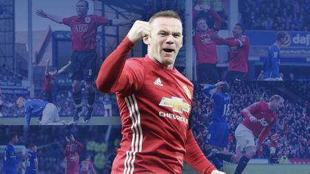 Derby County akan berhadapan dengan Manchester United di pertandingan babak kelima Piala FA 2019/20, Jumat (06/03/20) dini hari WIB, di mana Wayne Rooney dibayangi catatan buruk. - INDOSPORT