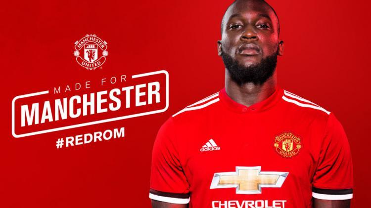 Romelu Lukaku, striker anyar Man United. Copyright: Manutd
