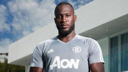 Romelu Lukaku, Striker anyar Manchester United. - INDOSPORT