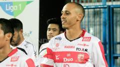 Indosport - Marquee player Madura United FC, Peter Odemwingie.