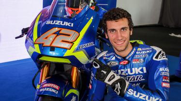 Pembalap MotoGP, Alex Rins. - INDOSPORT
