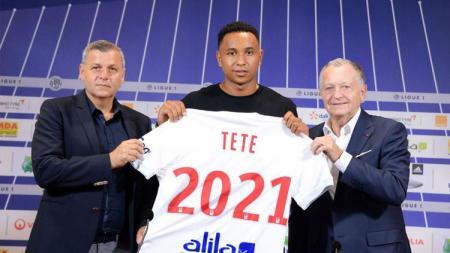 Kenny Tete (Olympique Lyonnais). - INDOSPORT