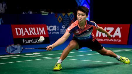 Tunggal putri Malaysia, Goh Jin Wei, melepas mimpinya untuk bisa lolos ke Olimpiade 2020 karena masih menderita penyakit di perutnya. - INDOSPORT