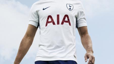 Jersey anyar Tottenham Hotspur. - INDOSPORT