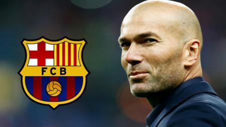 Balas tudingan Barcelona yang menyebut Real Madrid diuntungkan wasit LaLiga Spanyol, Zinedine Zidane malah mengamuk. - INDOSPORT