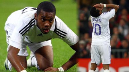 Robinho ketika memperkuat Real Madrid - INDOSPORT
