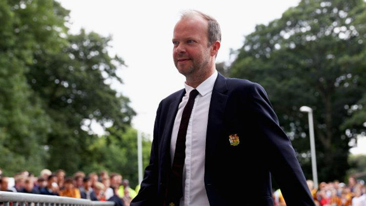 Ed Woodward tidak ikut dalam tur pramusim Manchester United di Amerika Serikat. Copyright: Matthew Lewis/Getty Images