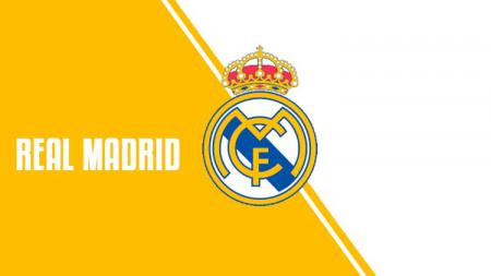 Logo Real Madrid. - INDOSPORT