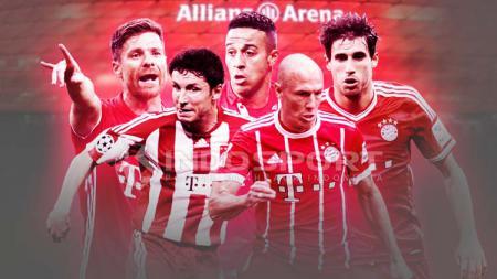 Pemain Bayern Munchen. - INDOSPORT