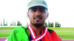 Indosport - Abdullah Hayayei, atlet paralimpiade asal Uni Emirat Arab.