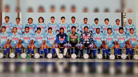 Skuat Arseto FC  musim 1997/98. - INDOSPORT