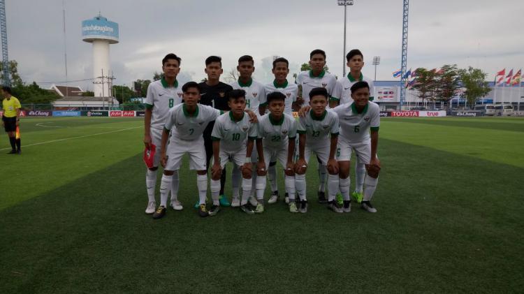 Timnas Indonesia U-16 Copyright: Twitter/@PSSI_Fai