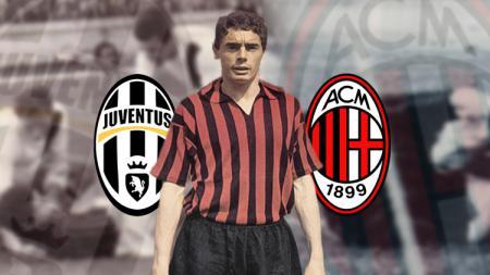 Bruno Mora pemain Juventus yang sukses bersama AC Milan. - INDOSPORT