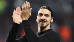 Indosport - Mantan pemain Manchester United, Zlatan Ibrahimovic.