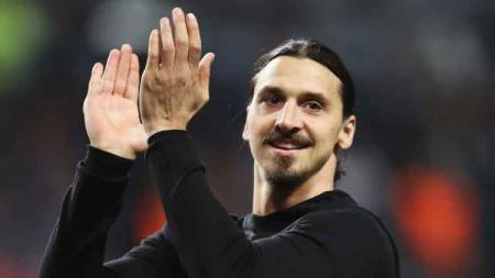 Mantan pemain Manchester United, Zlatan Ibrahimovic. - INDOSPORT