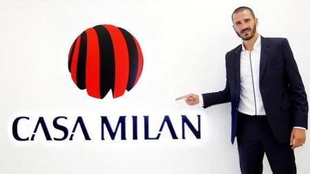 Leonardo Bonucci, pemain baru AC Milan. - INDOSPORT