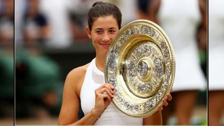Garbine Muguruza, juara Wimbledon 2017 Women Single's - INDOSPORT