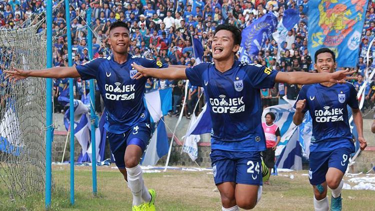 PSIS Semarang sukses benamkan Persiba Bantul dengan skor 5-0. Copyright: instagram/psisfcofficial