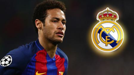 Neymar Jr bisa saja membela Real Madrid pada tahun 2013 lalu. - INDOSPORT