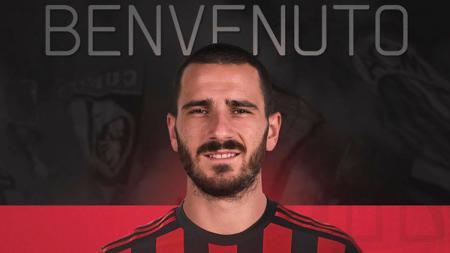 Bek anyar AC Milan, Leonardo Bonucci. - INDOSPORT
