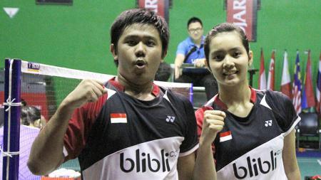 Ganda campuran Indonesia, Yantoni Edy Saputra/Marsheilla Gischa Islami. - INDOSPORT