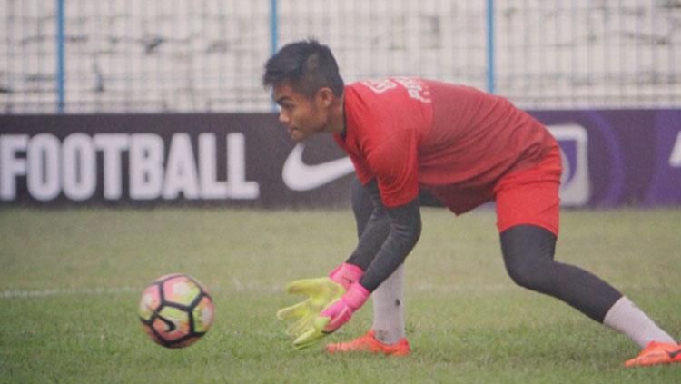 Kurniawan Kartika Ajie saat menjalani latihan bersama Persiba Balikpapan. Copyright: Instagram@Kurniawankartikaajie