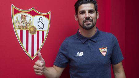 Nolito resmi meninggalkan Manchester City untuk gabung bersama Sevilla. - INDOSPORT