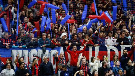 Fans San Lorenzo. - INDOSPORT
