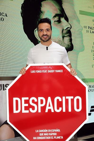 Luis Fonsi, pengarang dan penyanyi lagu Despacito. Copyright: gettyimages