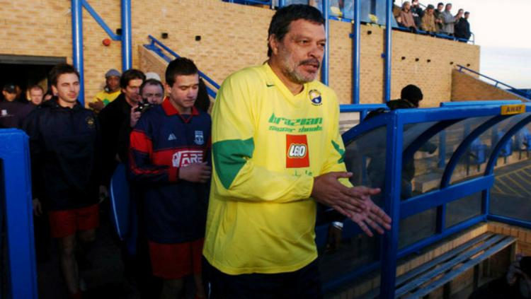 Socrates saat turun di laga Garforth Town. Copyright: news.coral.co.uk
