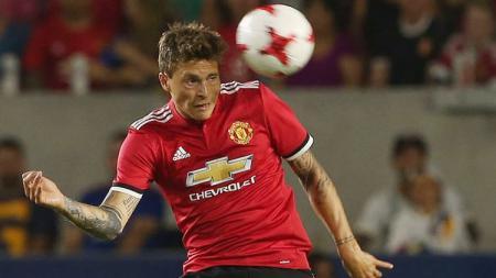 Victor Lindelof, bek Manchester United. - INDOSPORT