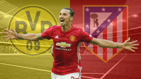Mantan striker Man United, Zlatan Ibrahimovic. - INDOSPORT