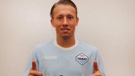 Eks Liverpool, Lucas Leiva resmi bergabung dengan Lazio. - INDOSPORT