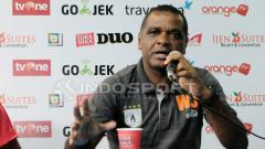Indosport - Manran pelatih Persipura Jayapura, Wanderley Junior.
