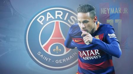 Striker Barcelona, Neymar. - INDOSPORT