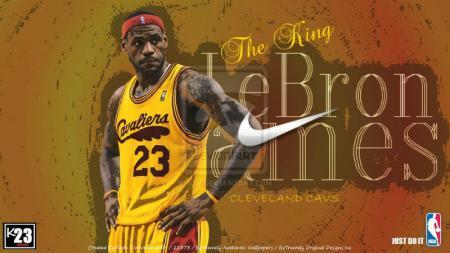 LeBron James, pemain megabintang Cleveland Cavaliers. - INDOSPORT