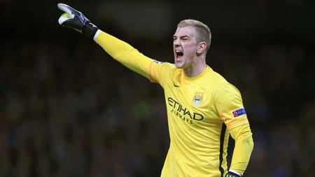 Joe Hart. - INDOSPORT