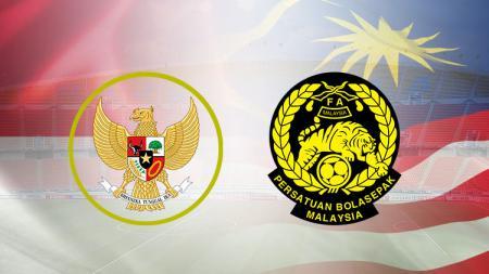 Indonesia vs Malaysia. - INDOSPORT