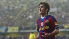 Indosport - Bojan Krkic, saudara sekaligus 'titisan' gagal Lionel Messi di klub LaLiga Spanyol, Barcelona.