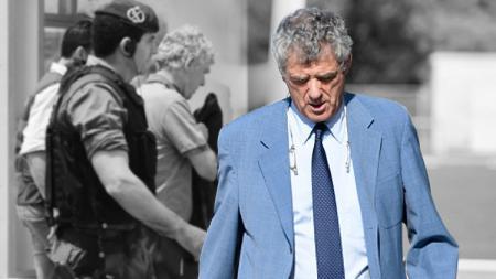 Presiden Federasi Sepak Bola Spanyol, Angel Maria Villar tersandung kasus korupsi. - INDOSPORT