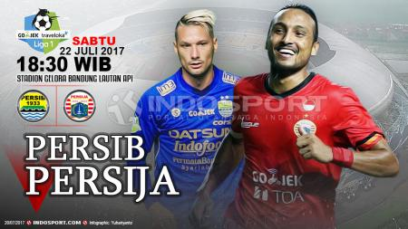 Prediksi Persib Bandung vs Persija Jakarta. - INDOSPORT