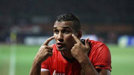 Marquee player Persija Jakarta, Bruno Lopes. - INDOSPORT